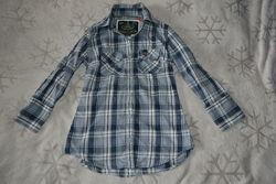 женская рубашка superdry оригинал размер XS 34