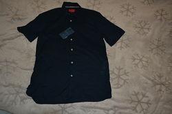 новая мужская рубашка Zara размер S-M 36-38 оригинал