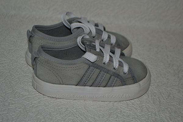 кеды мокасины Adidas 13.7 см 21 размер оригинал