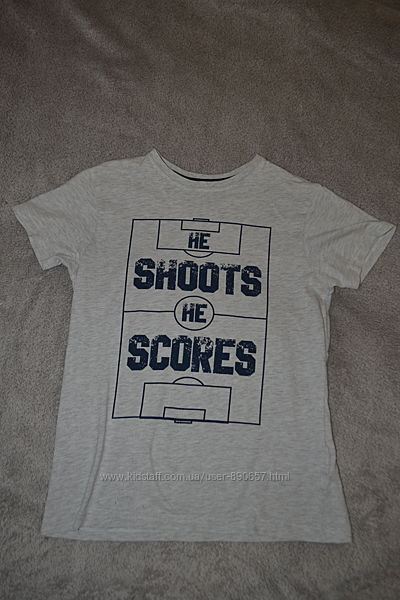 рубашка Rebel 10-11 лет рост 140-146 Англия