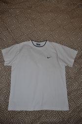 белая футболка NIke оригинал 10-12 лет рост 146-152