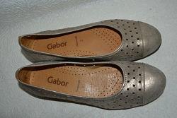 Туфли Gabor 23.3 см 36.5-37 размер кожа Англия