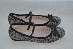 новые балетки туфли F&F 21 см 32 размер Англия