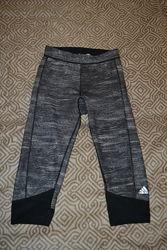 спортивные термо лосины Adidas techfit размер S-M 36-38 оригинал