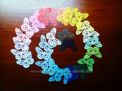 Вирубки-висічки Метелик MarthaStewart для декору 0, 50грн. шт. Колір на вибір