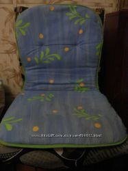 Мягкая сидушка для стула пароллон