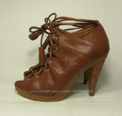 Женские оригинальные туфли-босоножки H&M, р. 36-37