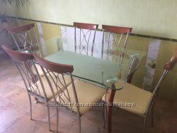 стол кухонный со стульями