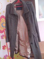 Стильное, актуальное и теплое пальто Zara шерсть