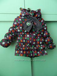 Куртка демисезонная для маленькой принцессы