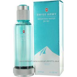 Swiss Army Mountain Water туалетная вода. Остаток во флаконе Оригинал