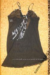 Атласная рубашка р. L