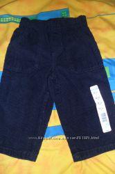 Новые вельветовые штаны Wonder Kids на 12-18 мес.