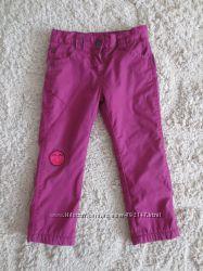 Деми Штаны, брюки, джинсы на флисе утепленные Lupilu на 2-3 год 98р