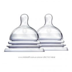 Соска силиконовая Munchkin для бутылочки Latch
