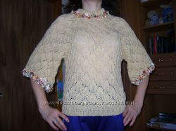 свитерок с рукавом 3-4