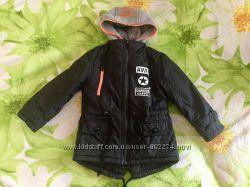 Деми куртка на флисовой подкладке фирмы Grace 98 р