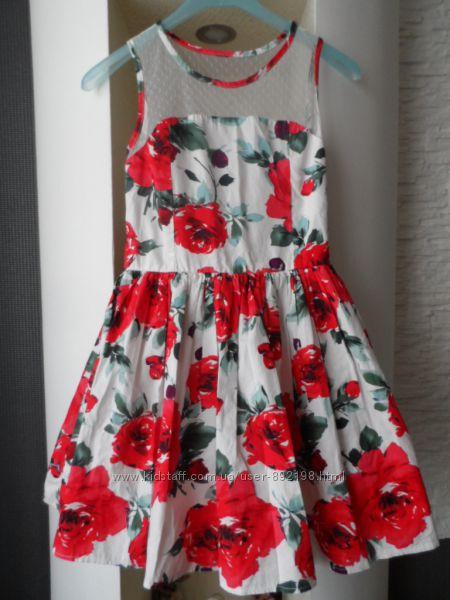 Яркое, красивое платье на 8-9л, 128-134р Charm Collection