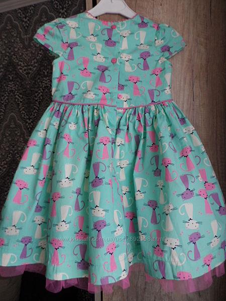 кисюли красивое платье, на 2-3 года,100 хлопок. идеал