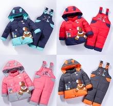 Зимний костюм комбинезон  куртка для ребенка