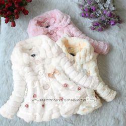 Пальто для девочки весеннее