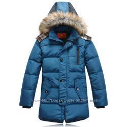 Куртка  пуховик  для мальчика