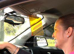 Антибликовый козырек для автомобиля HD Vision Visor Clear View Антиблик