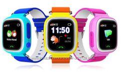 Детские сенсорные часы телефон Smart Baby Watch Q100 с мониторингом трекинг