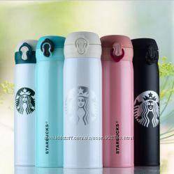 Удобный термос Starbucks New Старбакс 450 мл. Держит до 15 часов