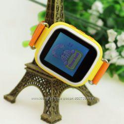 Детские умные часы телефон Smart Baby Watch Q80 c сенсорным цветным экраном