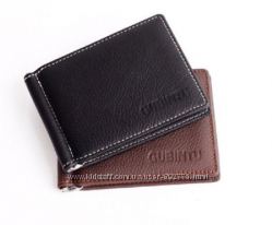 Зажим для купюр портмоне кошелек мужской 100 кожа