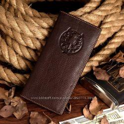 Кошелек портмоне клатч кредитница Хишник 100 процентов кожа