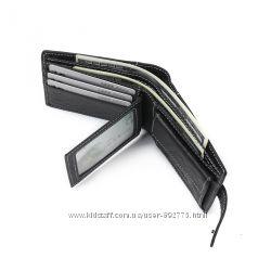 Портмоне кошелек 2 блока для удостоверения Ретро натуральная Кожа