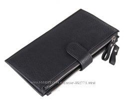 Кошелек портмоне клатч кредитница , чехол для смартфона Iphone из натуральн