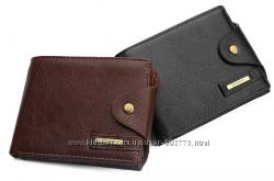 Мужской кошелек портмоне Big авто, кожа PU Уценка.