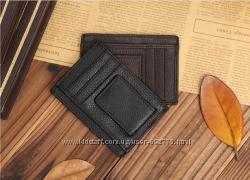 Портмоне кошелек зажим для купюр правник 100 Кожа