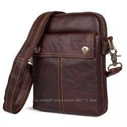 Мужская сумка Cross Body  5  из натуральной кожи