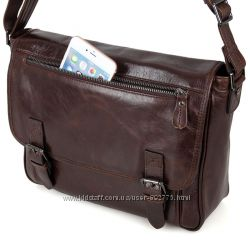 Мужская сумка Портфель из натуральной кожи