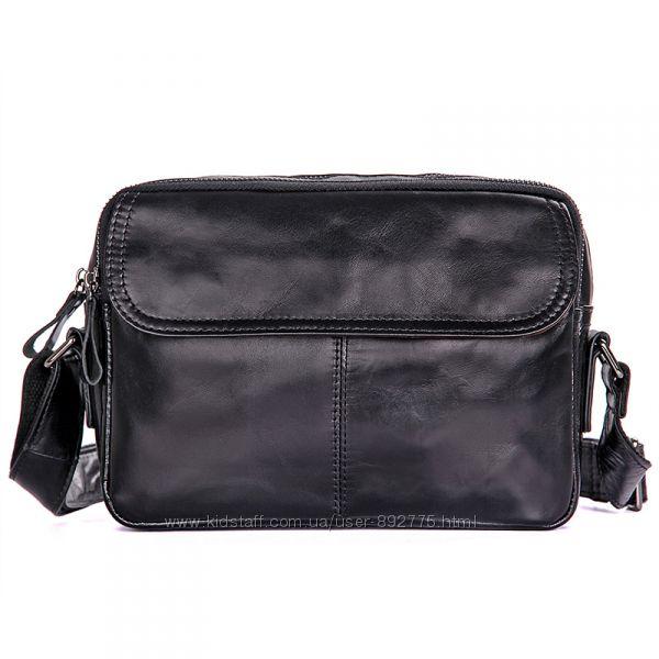 Мужская сумка барсетка England из натуральной кожи