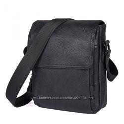 Мужская сумка барсетка Companion из натуральной кожи