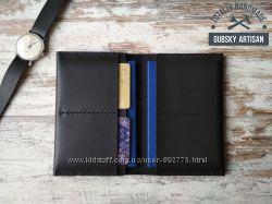 Обкладинка для паспорта обложка для паспорта и карт гаманець шкіряний ручна