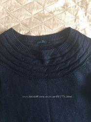 Вязаное теплое платье INCITY