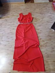 Платье Love Republic , красное, очень шикарное