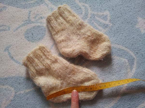 Носочки из шерсти козы