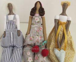 Ручная работа, Hand Made, игрушка мягкая, кукла, тильда