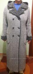 Пальто букле