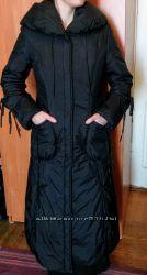Женское зимнее балоневое пальто