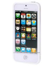 Бампер TPU любой цвет для iPhone 5-5S