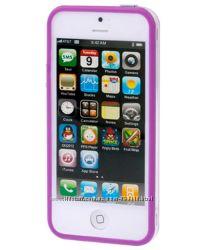 Бампер на Айфон 55SSE ТПУ любой цвет