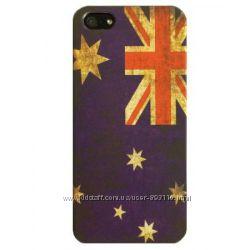 Чехол на Айфон 55SSE Британский-флаг